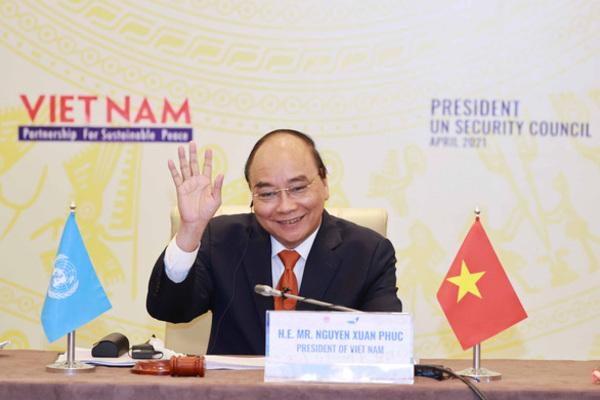 Lần đầu tiên Chủ tịch nước Việt Nam chủ trì phiên họp Hội đồng Bảo an