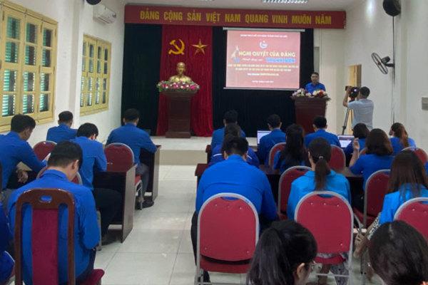 Hà Nội: Phát động cuộc thi trực tuyến tìm hiểu Nghị quyết Đại hội Đảng