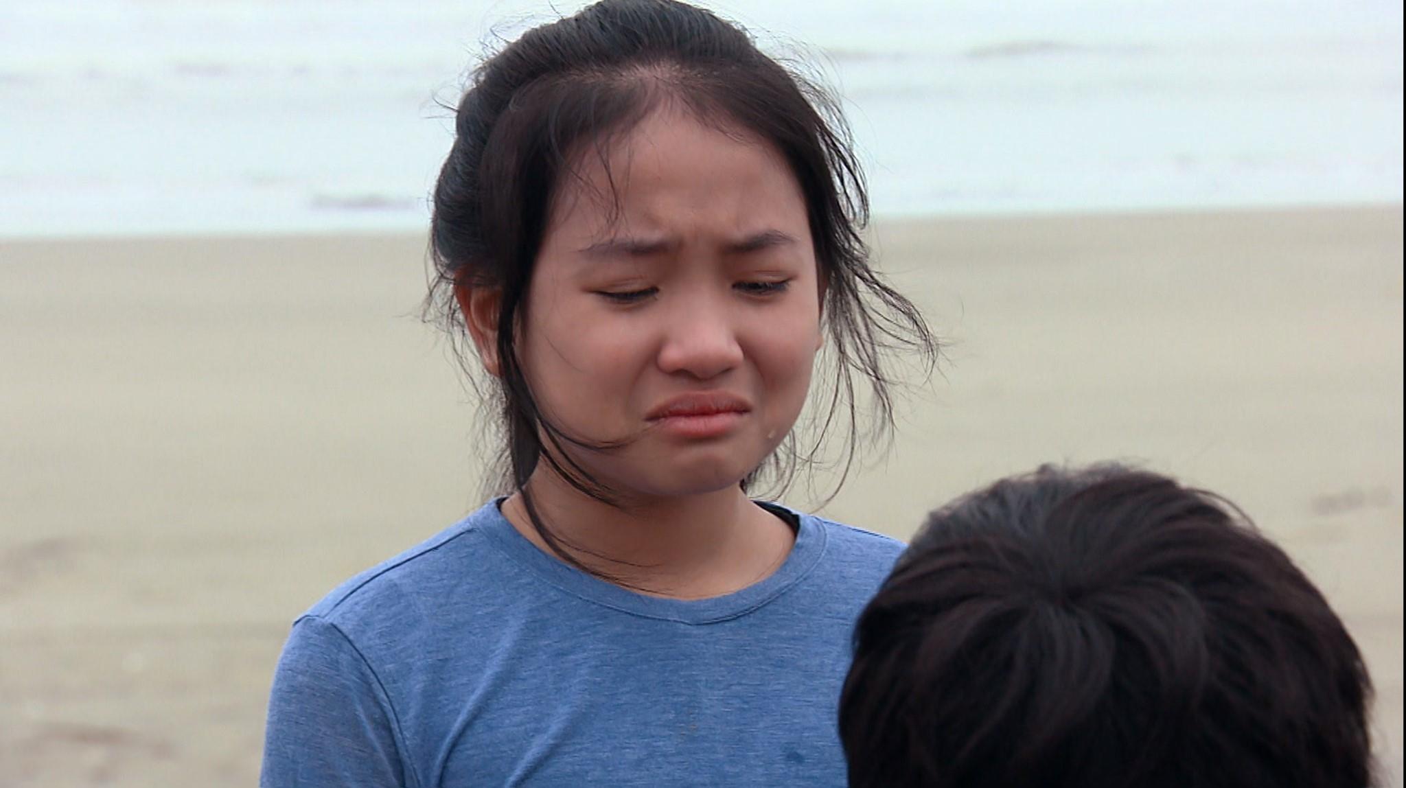 Phương Oanh bị diễn viên nhí của 'Hương vị tình thân' chinh phục