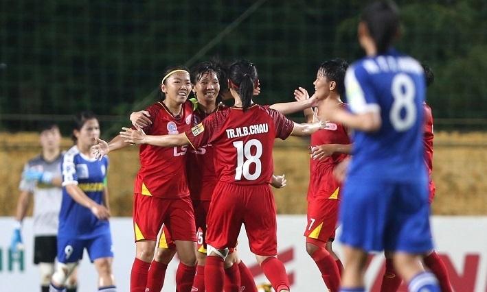 Nữ Hà Nội muốn soán ngôi của TPHCM ở Cup bóng đá nữ quốc gia
