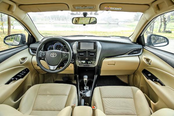 Thiết kế tối ưu, thêm loạt tiện ích, ấn tượng Toyota Vios 2021