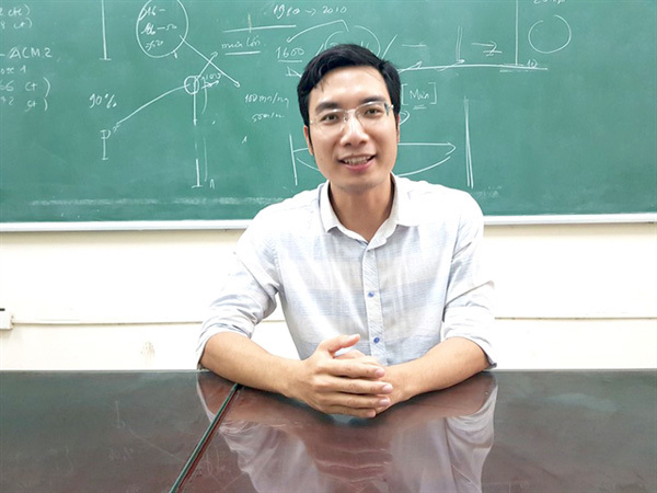 Young lecturer is passionate about forecasting the weather