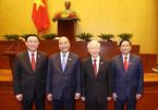 Nơi ứng cử Đại biểu Quốc hội của 4 lãnh đạo chủ chốt