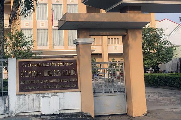 Kỷ luật cảnh cáo Giám đốc Sở LĐTB&XH Đồng Tháp
