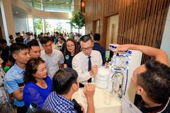 Máy lọc nước hydrogen ion kiềm ngày càng được ưa chuộng