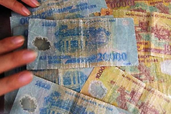 Thoải mái đổi tiền cũ nát do lưu thông, không hạn chế số lượng