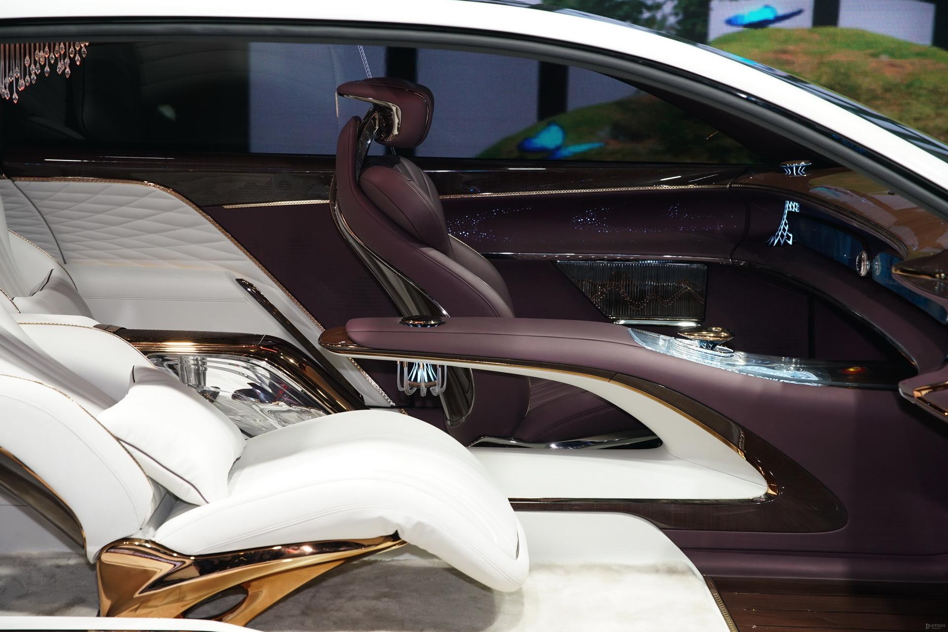 Hé lộ mẫu xe không vô lăng, thiết kế ghế ngồi khác người của Trung Quốc