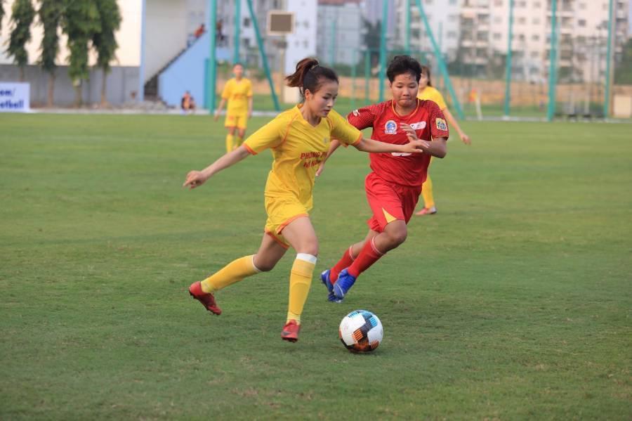 Cup bóng đá nữ quốc gia: Hà Nội và Hà Nam cùng thắng