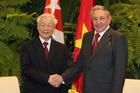 Tổng Bí thư Nguyễn Phú Trọng gửi thư tới ông Raul Castro