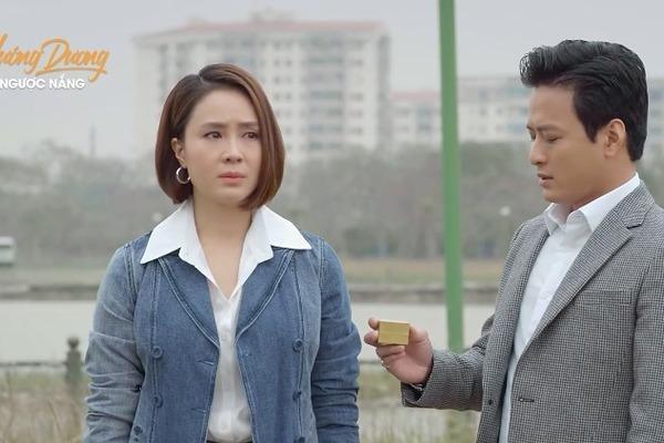 'Hướng dương ngược nắng' tập 57, Kiên khóc khi đưa nhẫn cầu hôn cho Châu