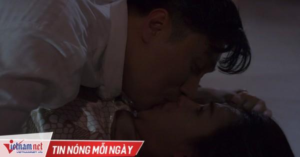 Phía sau cảnh Việt Anh hôn Lương Thu Trang trong 'Hướng dương ngược nắng'
