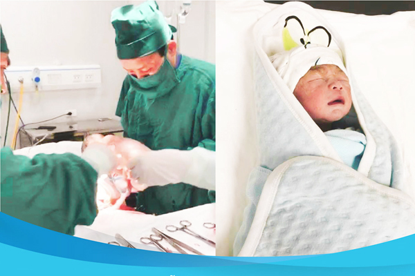 Người phụ nữ Thanh Hoá 61 tuổi sinh con trai khoẻ mạnh