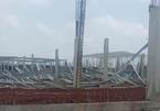 Gió lớn thổi sập kết cấu thép nhà xưởng trong khu công nghiệp ở Quảng Ninh