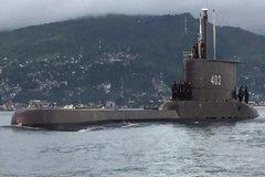 Tìm thấy mảnh vỡ nghi từ chiếc tàu ngầm mất tích của Indonesia