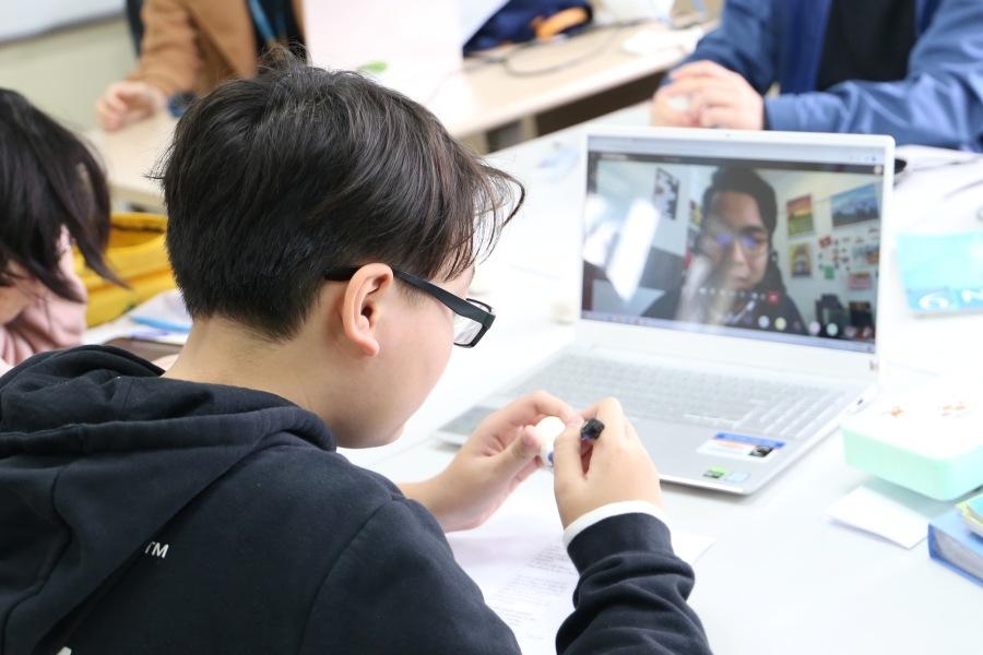 Thầy trò Hà Nội dùng công nghệ 'mở rộng không gian lớp học'