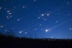 Mưa sao băng có thể xuất hiện vào đêm nay