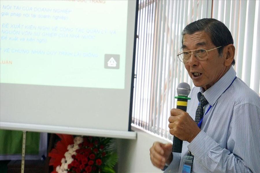 Ông Hồ Quang Cua nói về việc gạo ST25 bị doanh nghiệp nước ngoài đăng ký