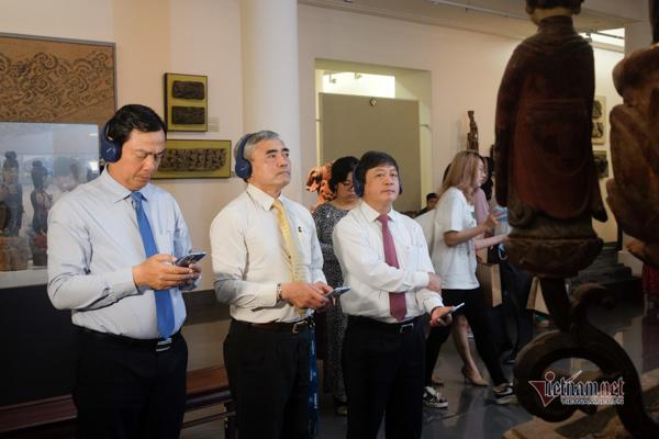 Không cần sang Anh, Mỹ, ở Việt Nam cũng có bảo tàng thuyết minh tự động
