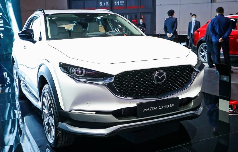 Ngắm Mazda CX-30 phiên bản chạy điện tại Trung Quốc