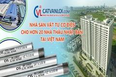 Ống luồn dây điện CVL - sản phẩm công nghiệp hỗ trợ tiêu biểu TP.HCM 2020