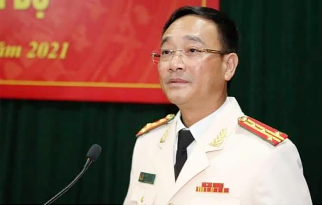 Đại tá Phạm Thế Tùng giữ chức vụ giám đốc Công an tỉnh Nghệ An