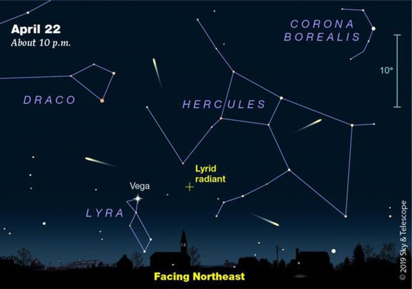 Vietnam to welcome sight of Lyrid meteor shower