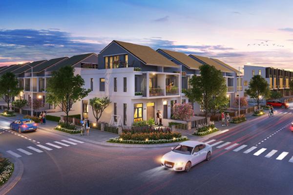 Dự án Gem Sky World 'trình làng' nhà phố xây sẵn và shophouse