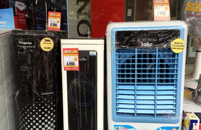 Chưa nắng nóng, quạt điều hòa đã đồng loạt giảm giá sâu