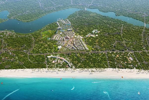 Shoptel biển La Queenara - độc đáo với thiết kế 'trong tĩnh, ngoài động'