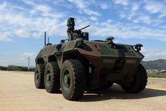 Khám phá xe trinh sát không người lái 6x6 đầu tiên của quân đội Hàn Quốc