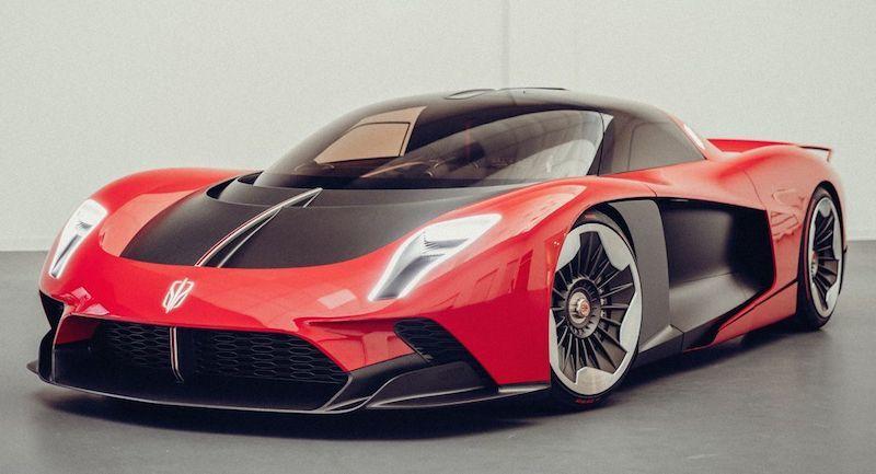Hình ảnh mới nhất về siêu xe Trung Quốc nhanh hơn cả Bugatti Bolide