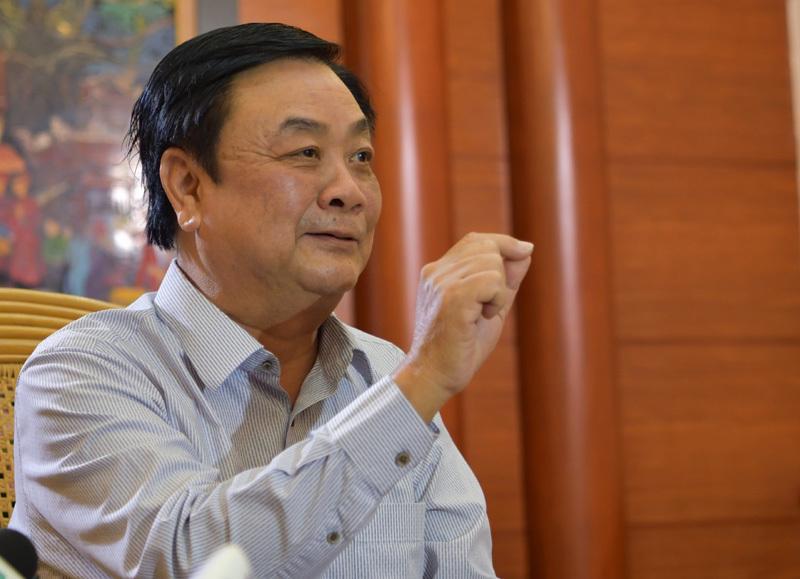 hi-tech agriculture,digital technology,vietnam economy,Le Minh Hoan