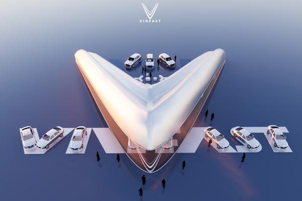 Công bố 9 thiết kế showroom VinFast toàn cầu xuất sắc nhất