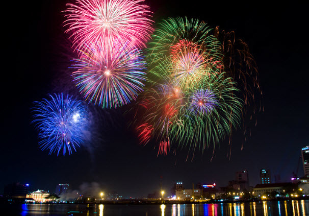 TP.HCM sẽ bắn pháo hoa mừng dịp lễ 30/4
