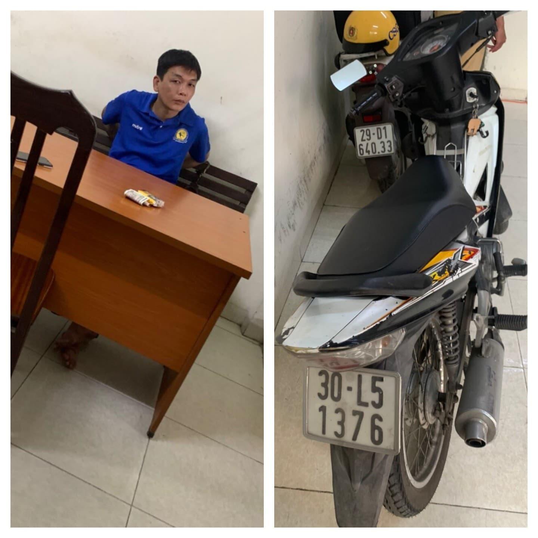 CSGT Hà Nội phóng mô tô bắt cướp trên phố cổ như phim hành động