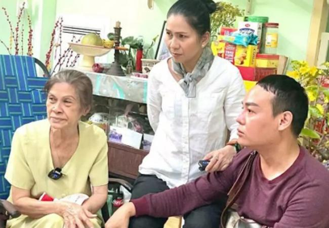 Nghệ sĩ Diễm Kiều tuổi 78 tuổi sống ẩn dật, làm bạn với tivi