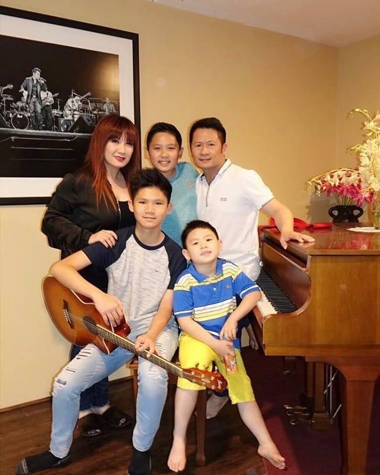 Con trai Bằng Kiều trúng tuyển trường nhạc ở Mỹ
