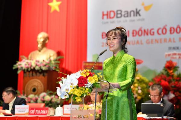 HDBank chia cổ tức 25%