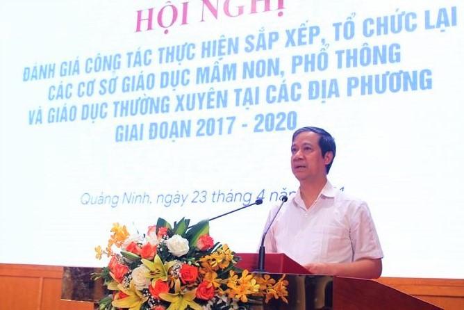 """Bộ trưởng Nguyễn Kim Sơn: """"Việc lớn phải bắt đầu từ việc nhỏ"""""""