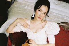 Trương Tri Trúc Diễm đẹp mặn mà tuổi 32