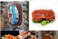 Sự thật lõi bò Úc, cua siêu gạch Na Uy giá rẻ bán đầy chợ