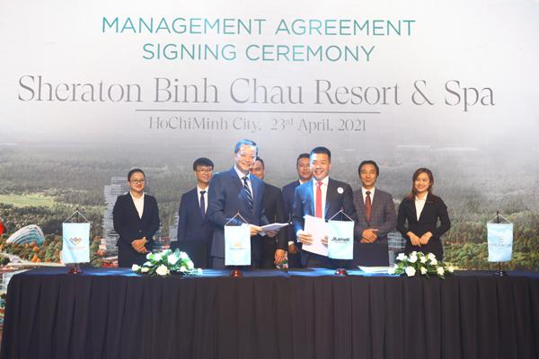 Hưng Vượng Developer ký kết với các đối tác phát triển dự án Venezia Beach