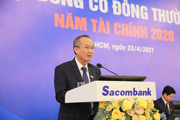 Năm 2021, Sacombank nhắm đích lợi nhuận trước thuế đạt 4.000 tỷ đồng
