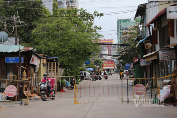 Campuchia vật lộn chống Covid-19, hình ảnh trực tiếp từ tâm dịch