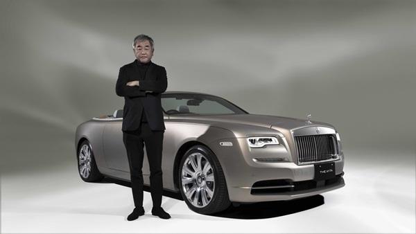 Xe siêu sang Rolls-Royce lấy cảm hứng từ tòa nhà sang chảnh của Nhật Bản
