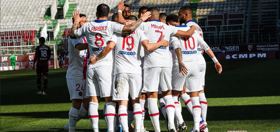 Mbappe đưa PSG lên đầu bảng Ligue 1