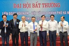 Liên đoàn Vovinam-Việt võ đạo Hà Nội có tân Chủ tịch