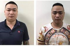 Bắt giam 4 thanh niên xăm trổ cho vay lãi giá cắt cổ tại quận Hà Đông