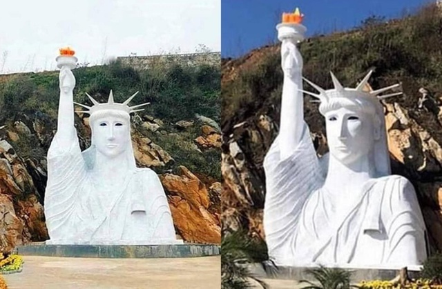 Sapa tourist destination temporarily closes for 'ugly' replica of Statue of Liberty