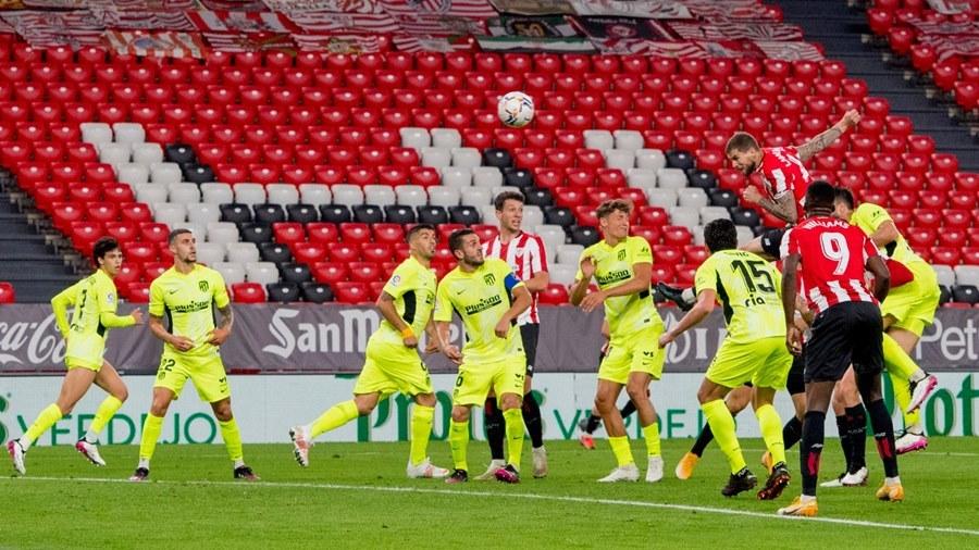 Thua đau Bilbao, Atletico nguy cơ bị Barca chiếm ngôi đầu